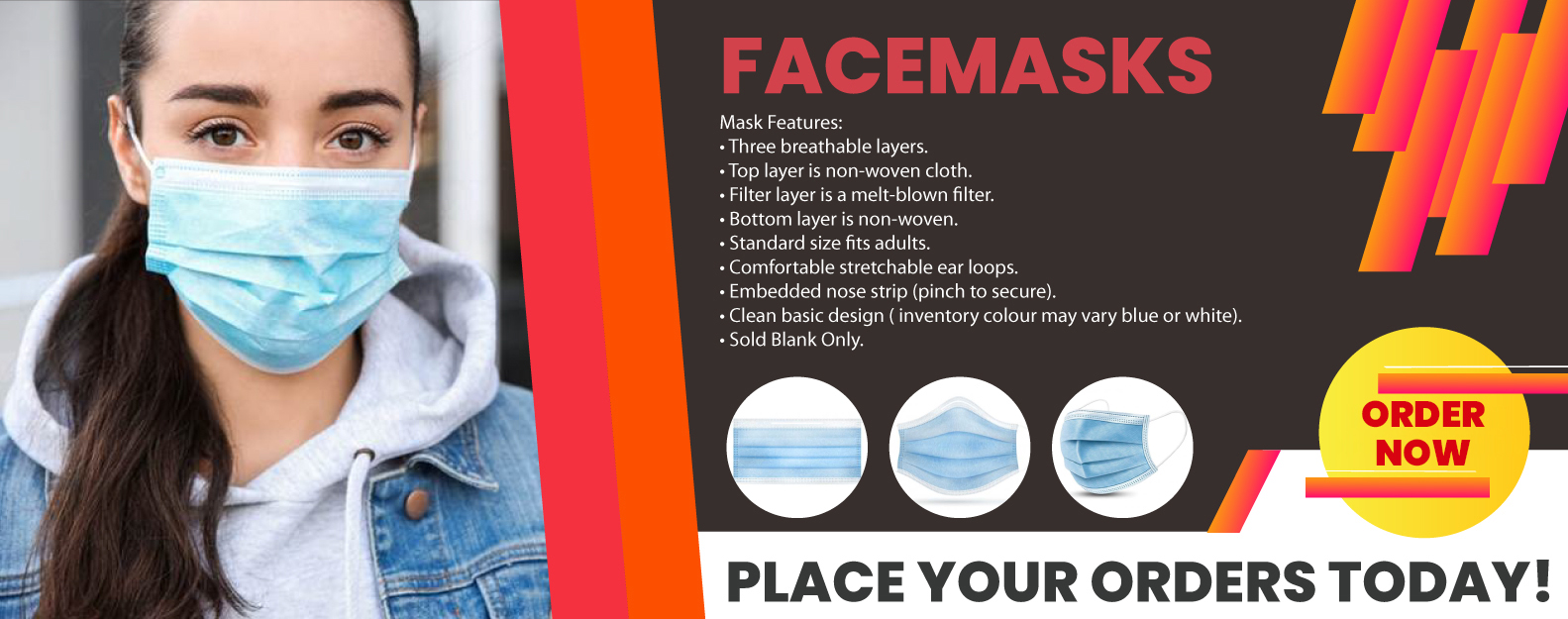 Facemask-banner